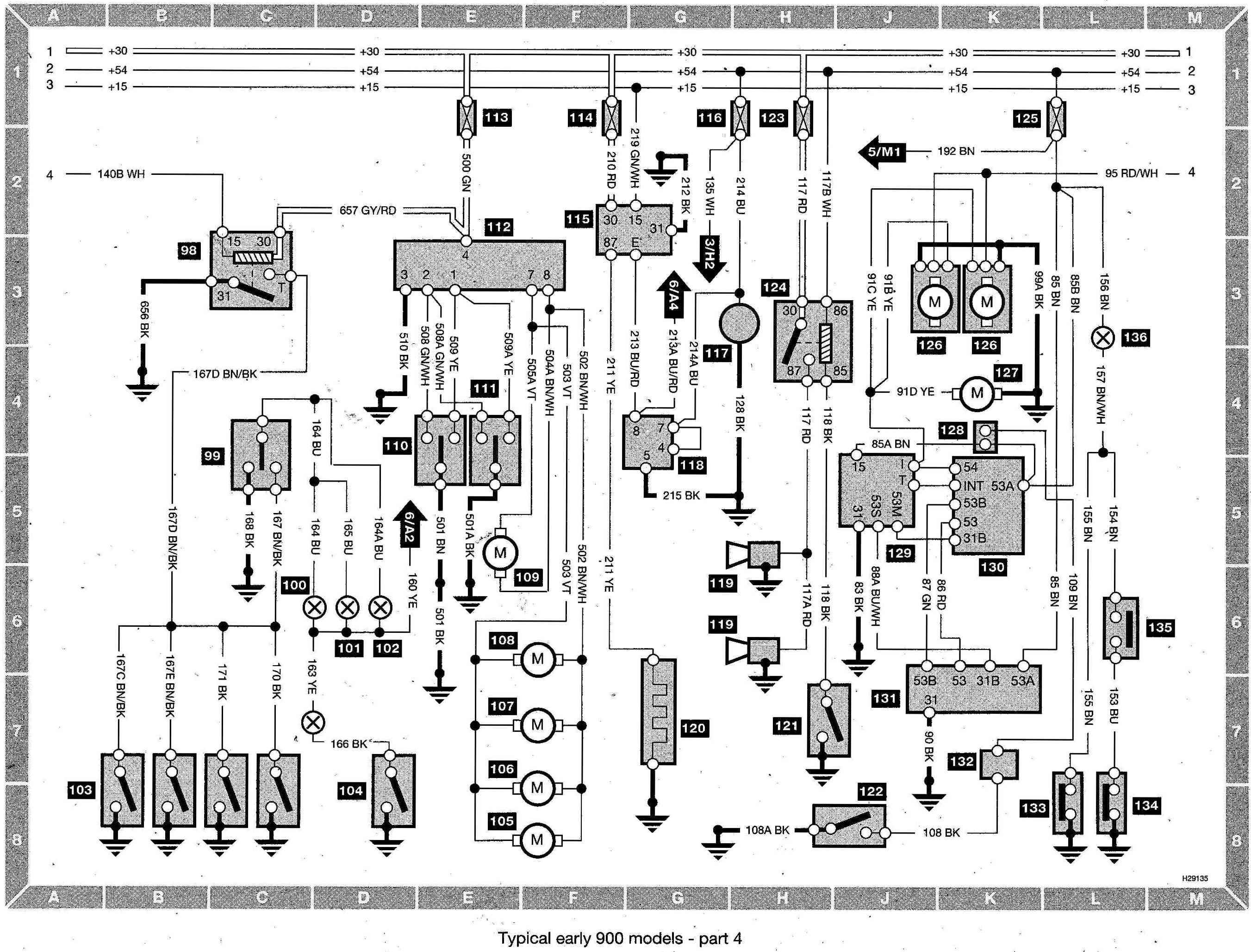 saab 9 3 wiring schematics saab wiring schematics index of /saab/saab 900 wiring diagram (early models)