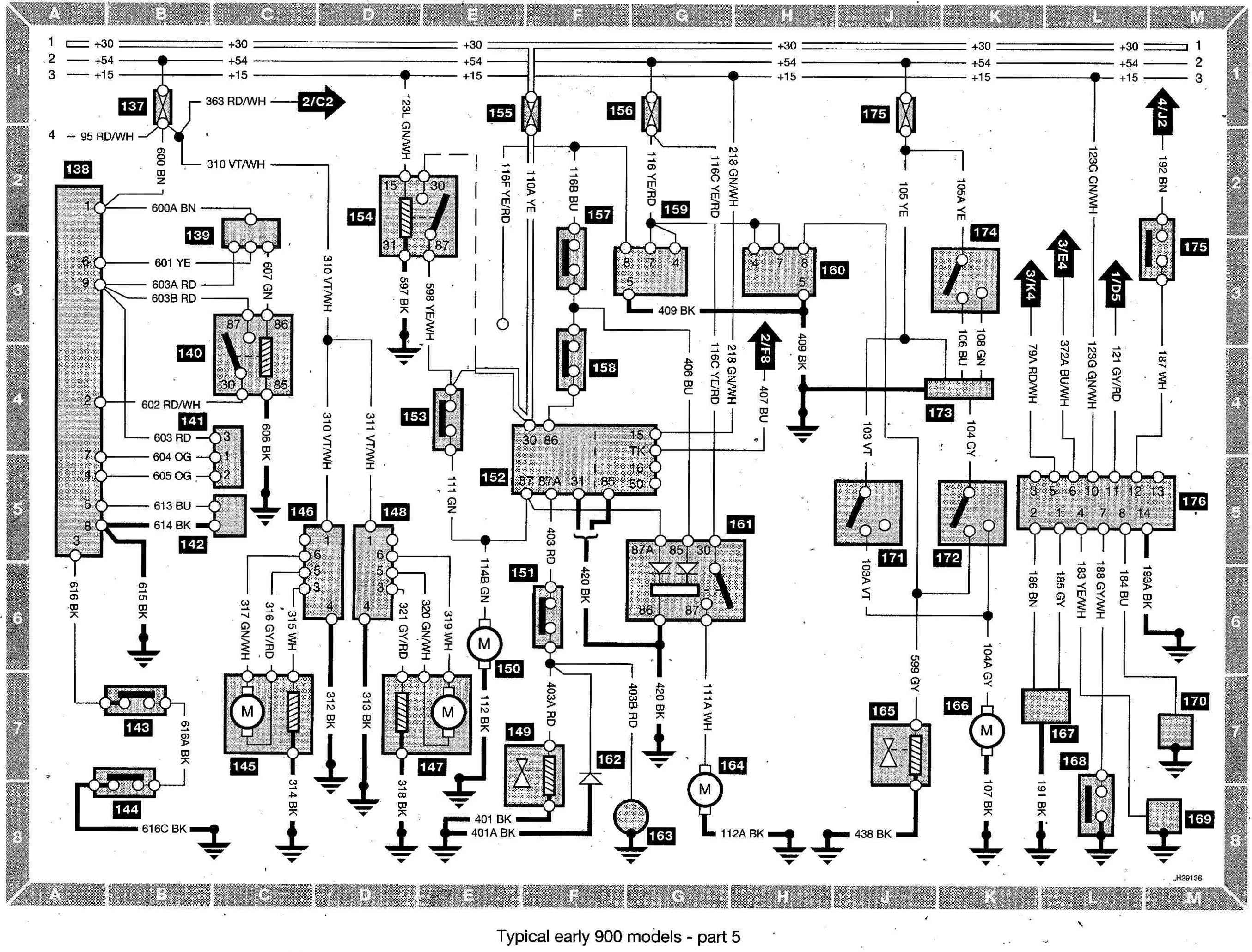 saab 9 5 wiring diagram 2001 saab 9 5 wiring diagram well 1999 saab 9 3 radio wiring diagram saab 900 radio ... #9